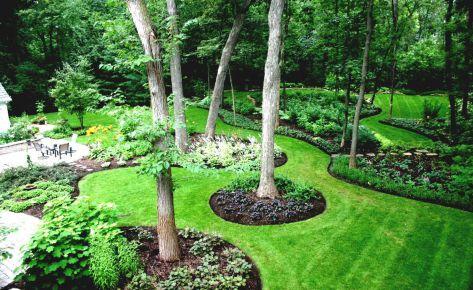Un jardin relaxant